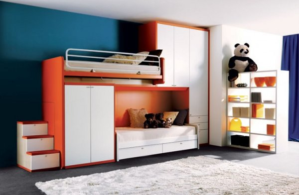 Image of: Awesome Modern Kids Bedroom Furnitures