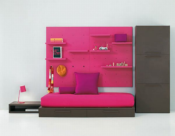 Image of: Simple Modern Kids Bedroom Furniture