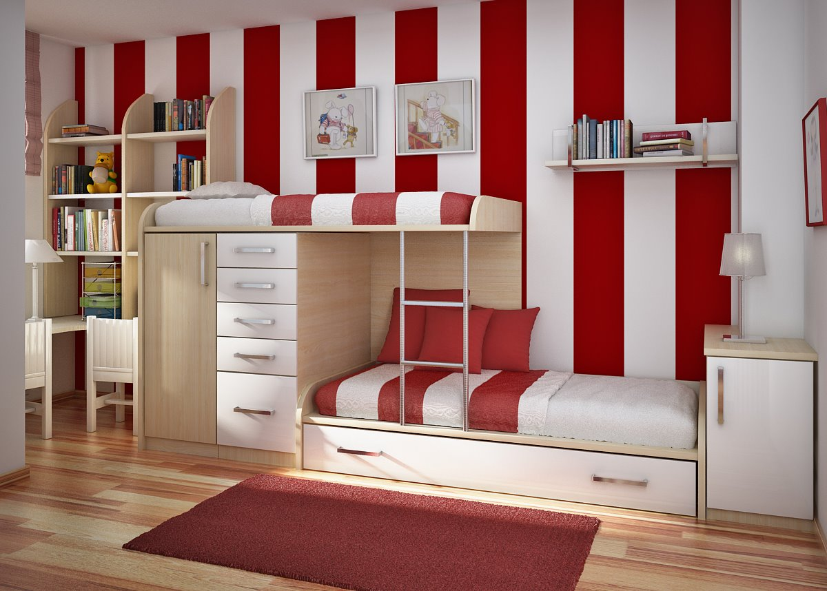 Strip Modern Kids Bedroom Furniture