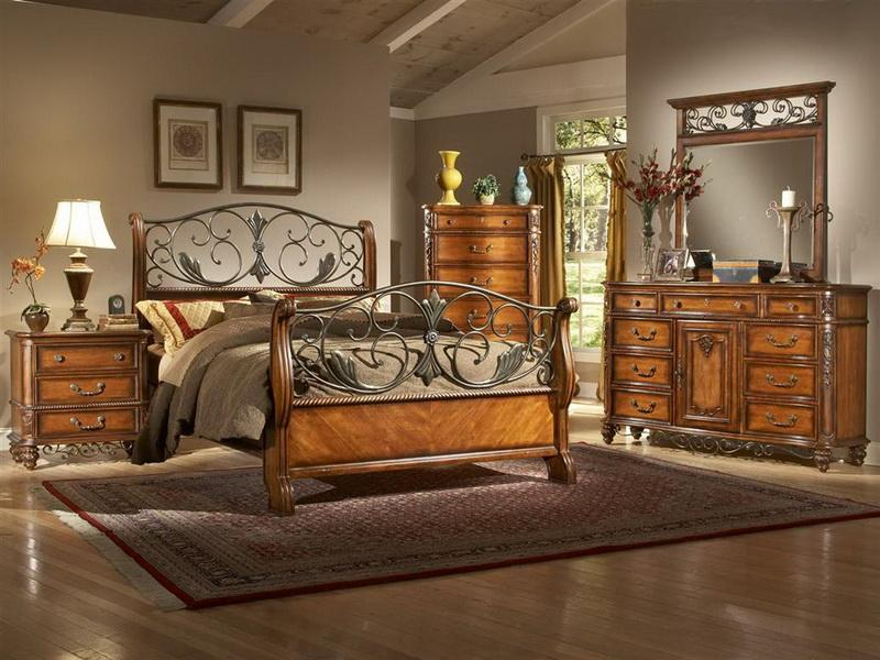 Image of: new tuscan bedroom furniture