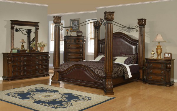 Image of: tuscan bedroom furniture color