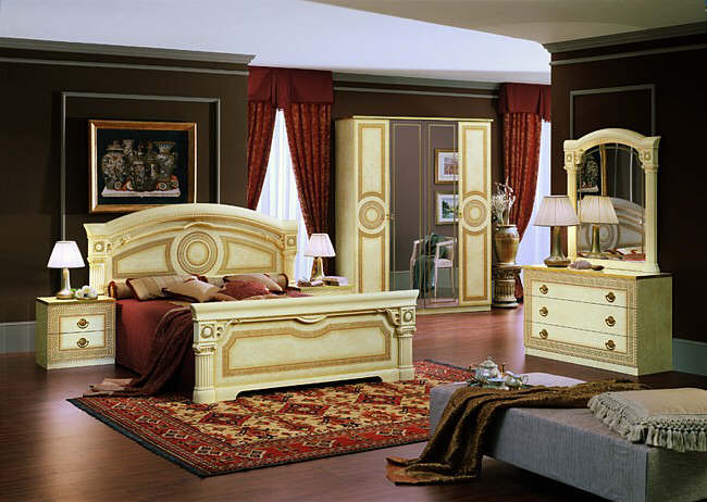 Image of: tuscan bedroom furniture photo