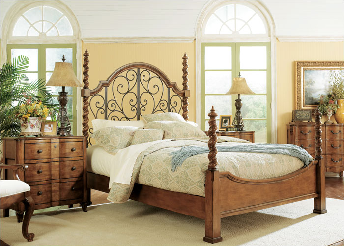 Image of: tuscan bedroom furniture theme