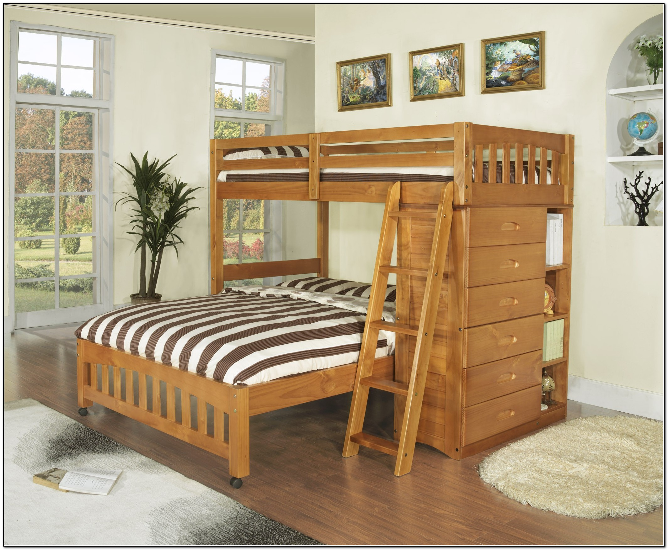 Image of: Adult Bunk Beds Ideas