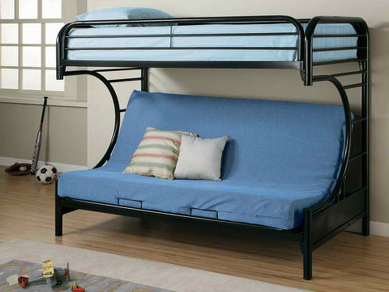 Image of: Best couch bunk beds