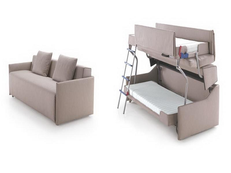 Image of: Build sofa bunk bed