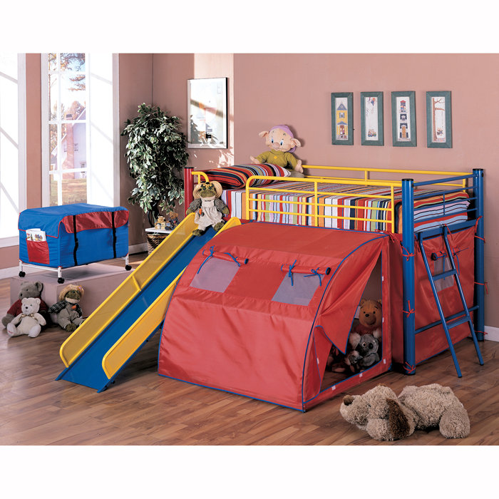 Image of: Bunk Bed with Slide Collection