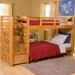 Bunk Bed with Stairs and Stirage