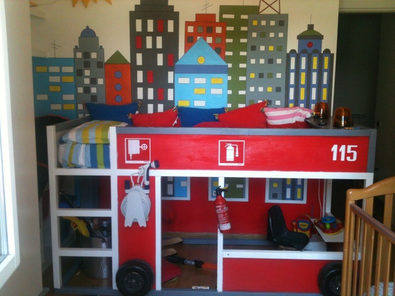 Image of: Bunk Style Beds for Boy Design
