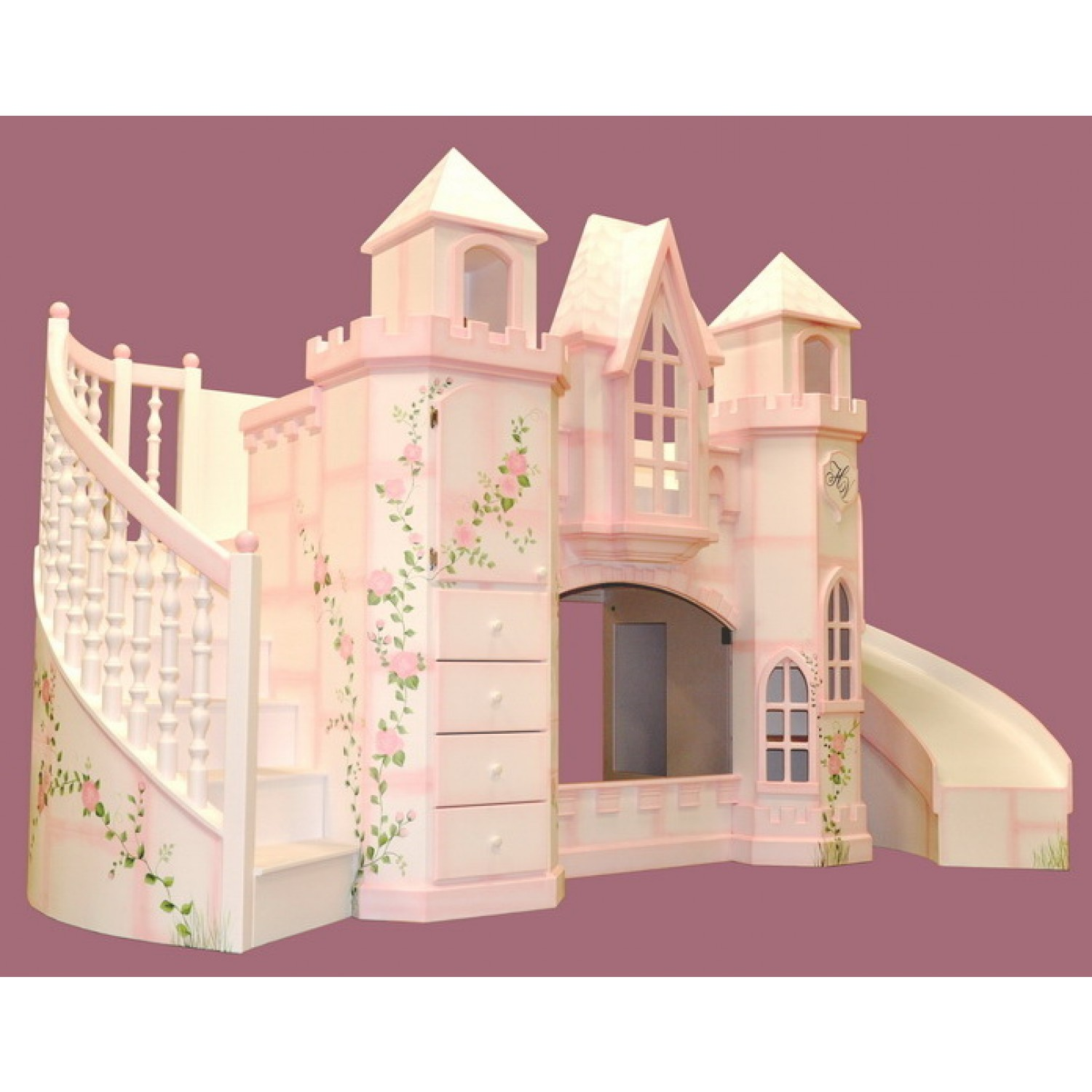 Image of: Castle Bunk Bed Vicari