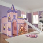 Children Pincess Bunk Bed with Slide