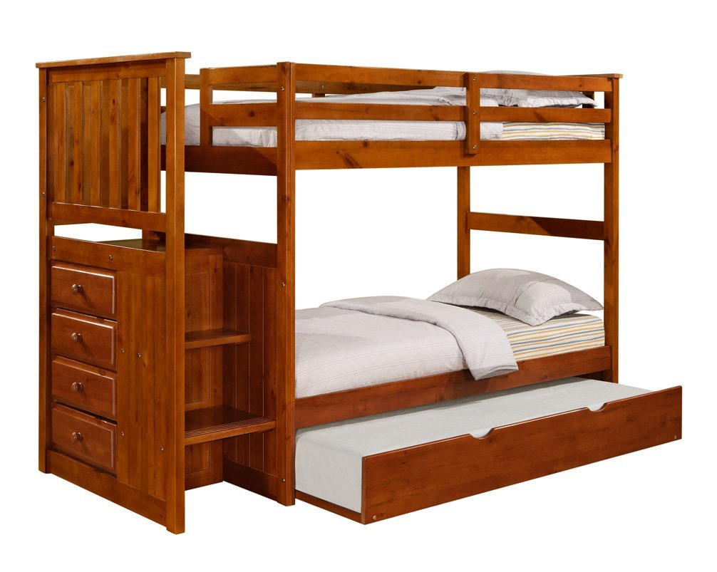 Image of: Choosing Trundle Bunk Beds