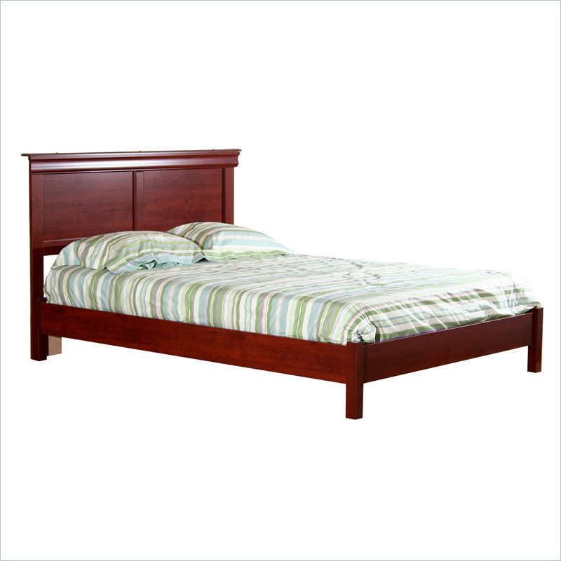 Image of: Classic Queen Platform Bed Frame