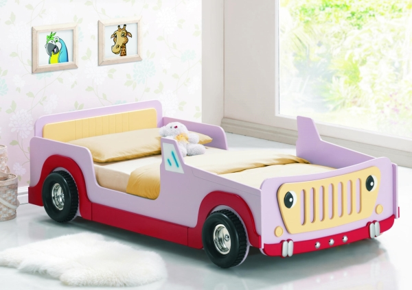 Image of: Cool Bed Frames Design Ideas for Kids