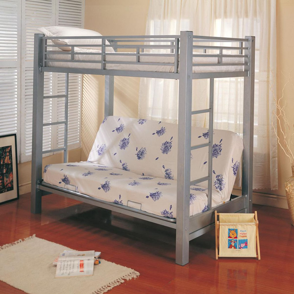 Image of: Cool Futon Bunk Beds