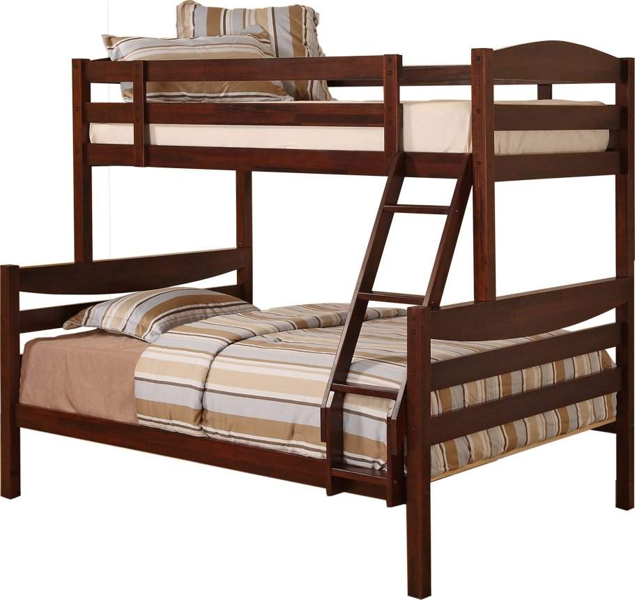 Image of: Cottage Wooden Bunk Beds
