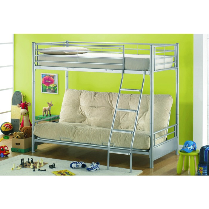 Cream sofa bunk bed