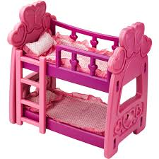 Image of: Cute Doll Bunk Beds