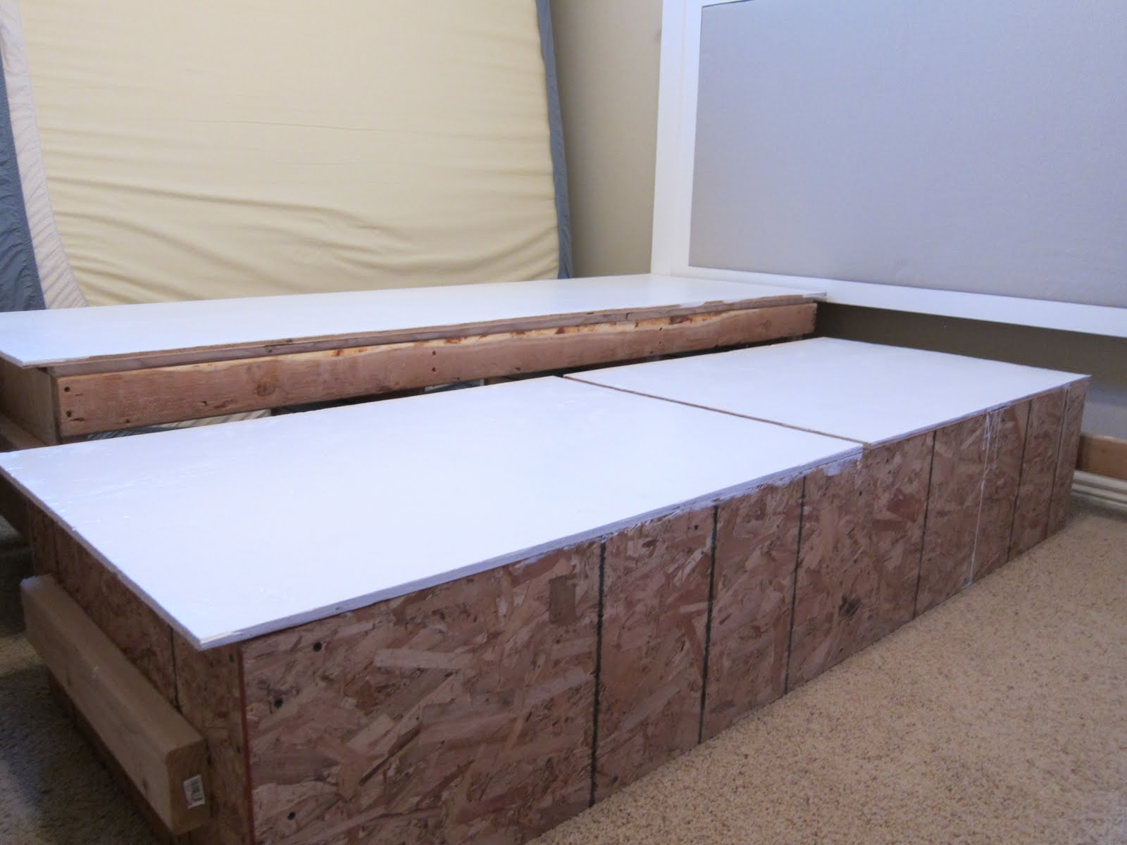 Image of: Diy Bed Frame