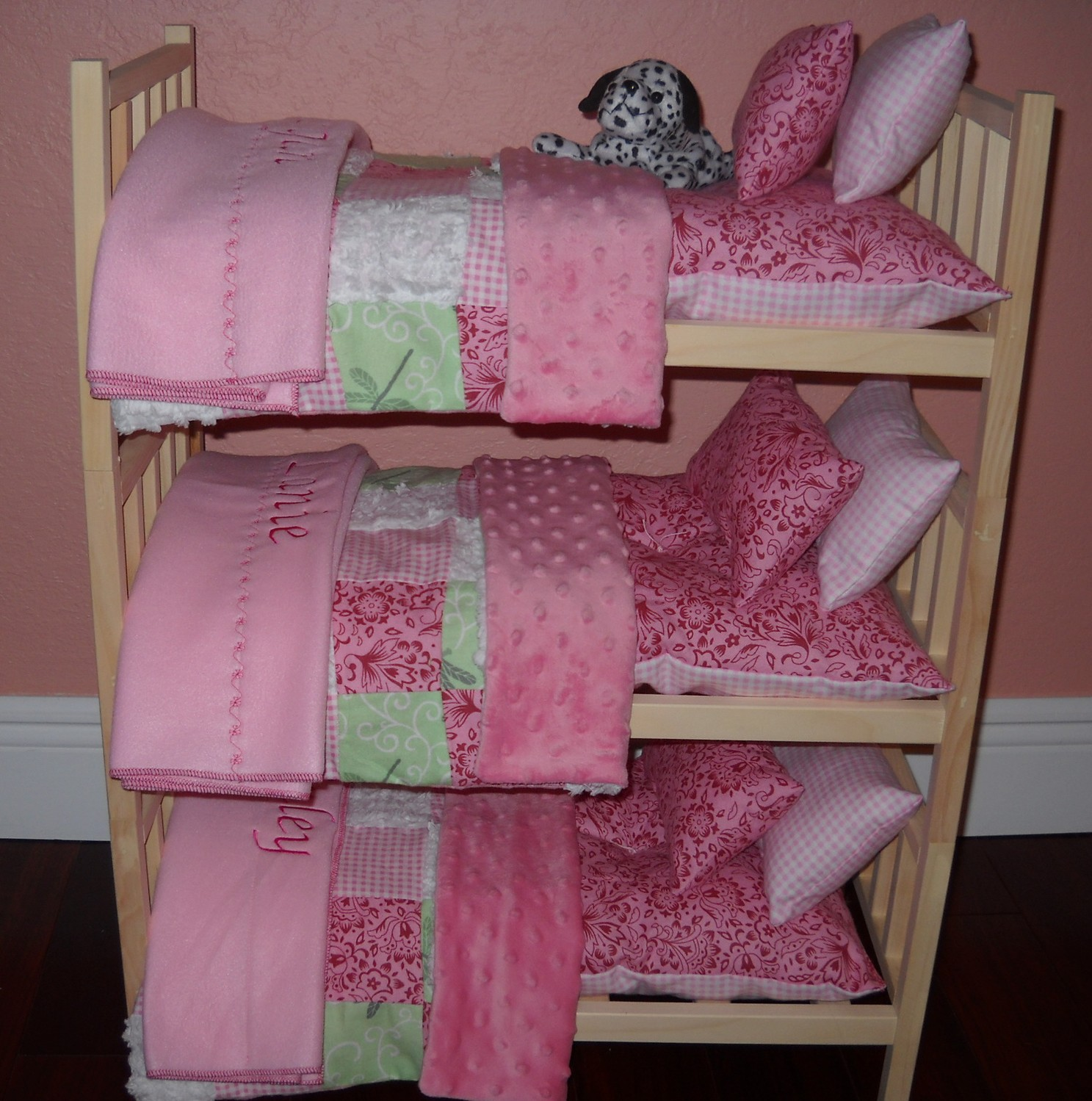 Image of: Doll Bunk Beds Sweet