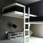 Elegant Bunk Bed with Stairs