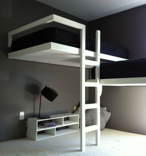 Image of: Elegant Bunk Bed with Stairs