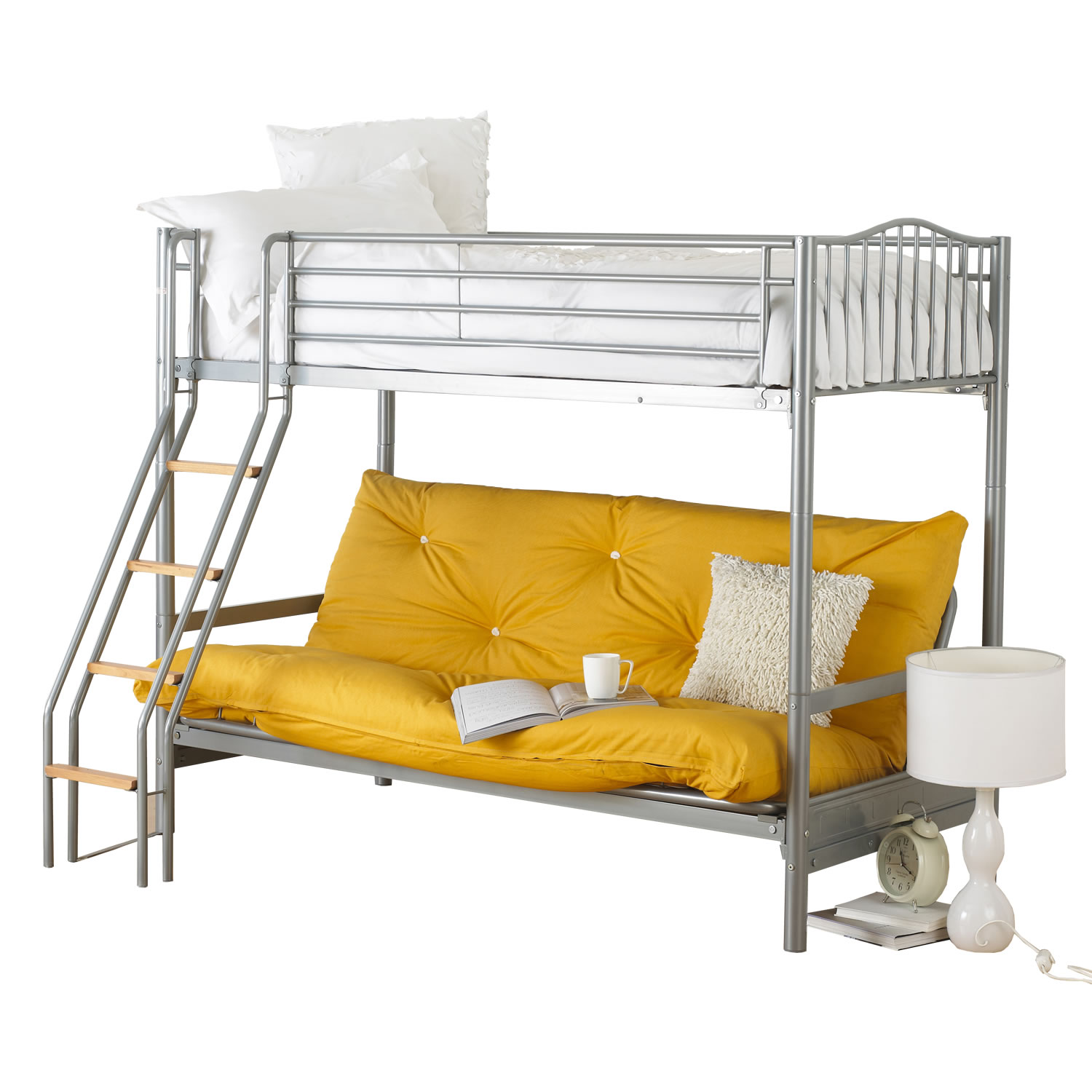 Image of: Futon Bunk Beds Design