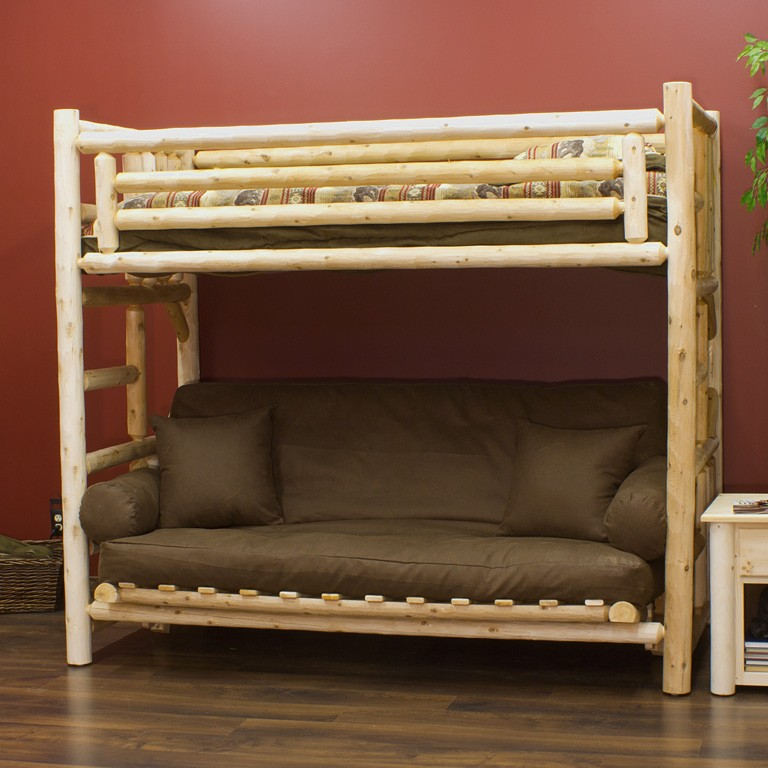 Image of: Futon Bunk Beds Ideas