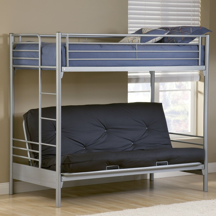 Image of: Futon Bunk Beds for Teenagers