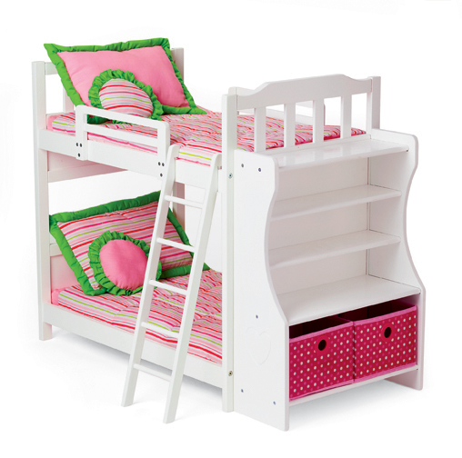 Image of: Heart Doll Bunk Beds