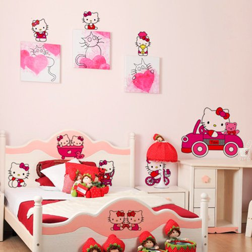 Image of: Hello Kitty Bedroom furniture Beautuful