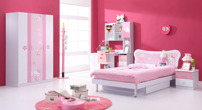 Image of: Hello Kitty Bedroom furniture For Children
