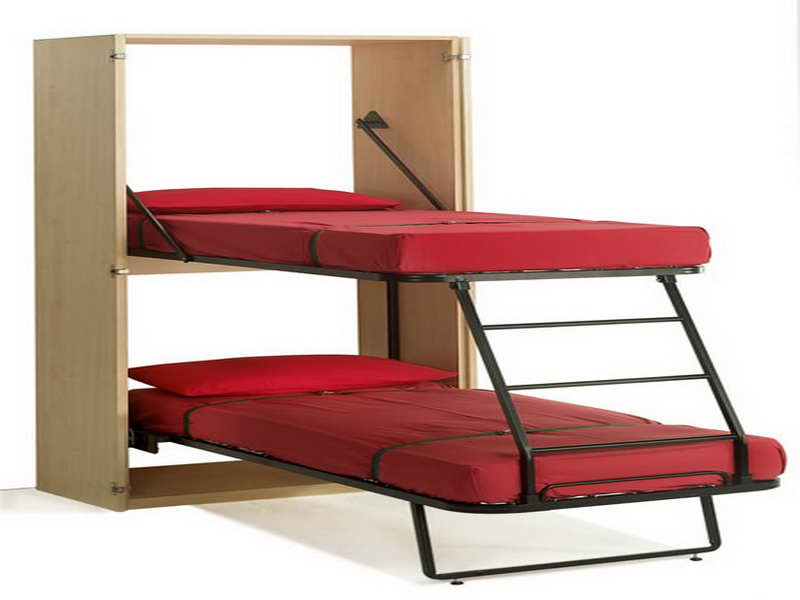 Image of: Ideas Murphy Bed Bunk Beds