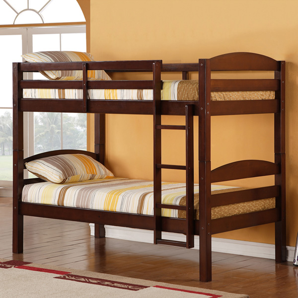 Image of: Ideas for wood bunk beds