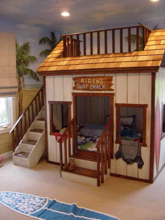 Image of: Interesting Bunk Beds for Boy