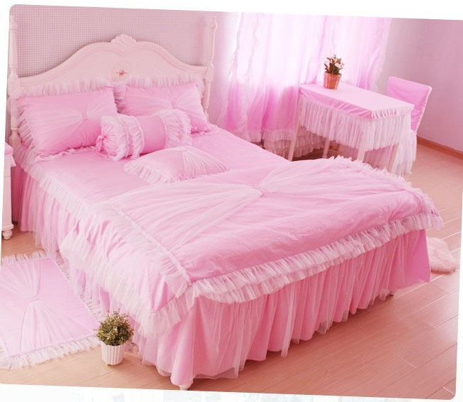 Image of: Korean princess bedroom set