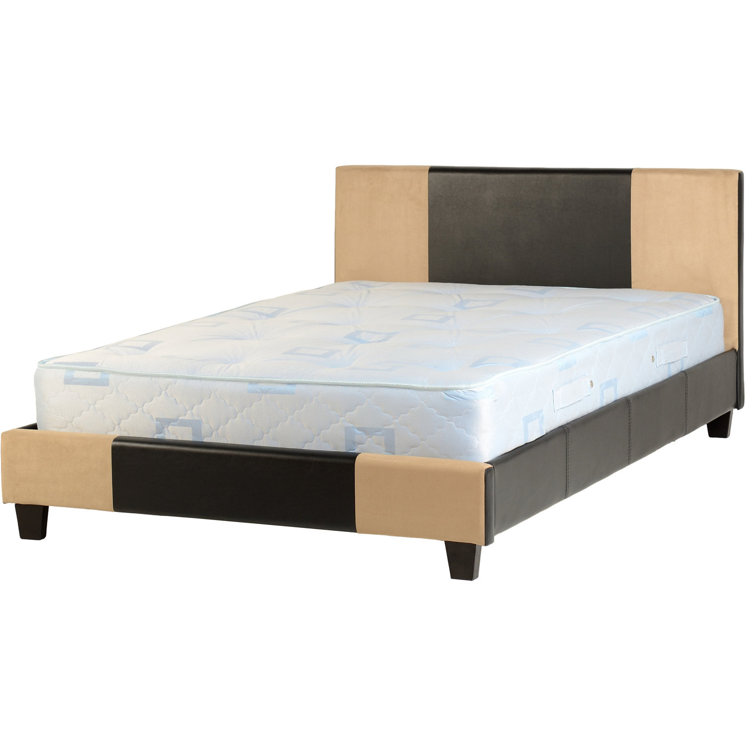 Image of: Luxury Upholstered Bed Frame