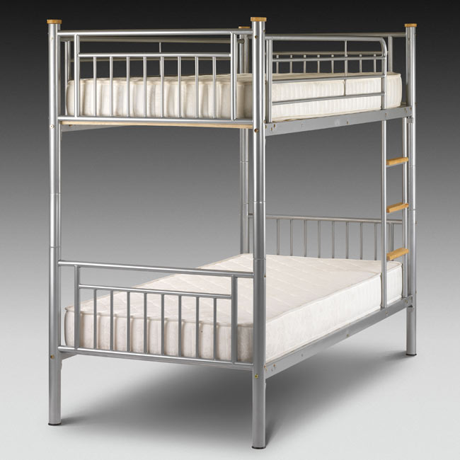 Image of: Metal bunk beds furniture