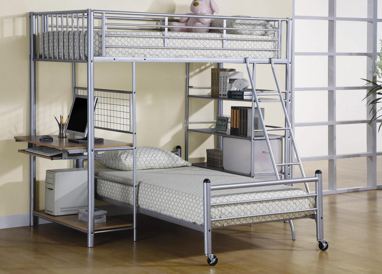 Image of: Metal for Adult Bunk Beds