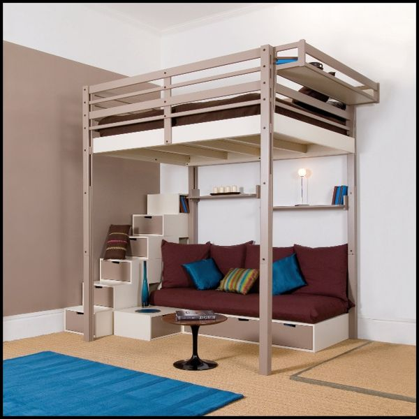 Image of: Modern Adult Bunk Beds