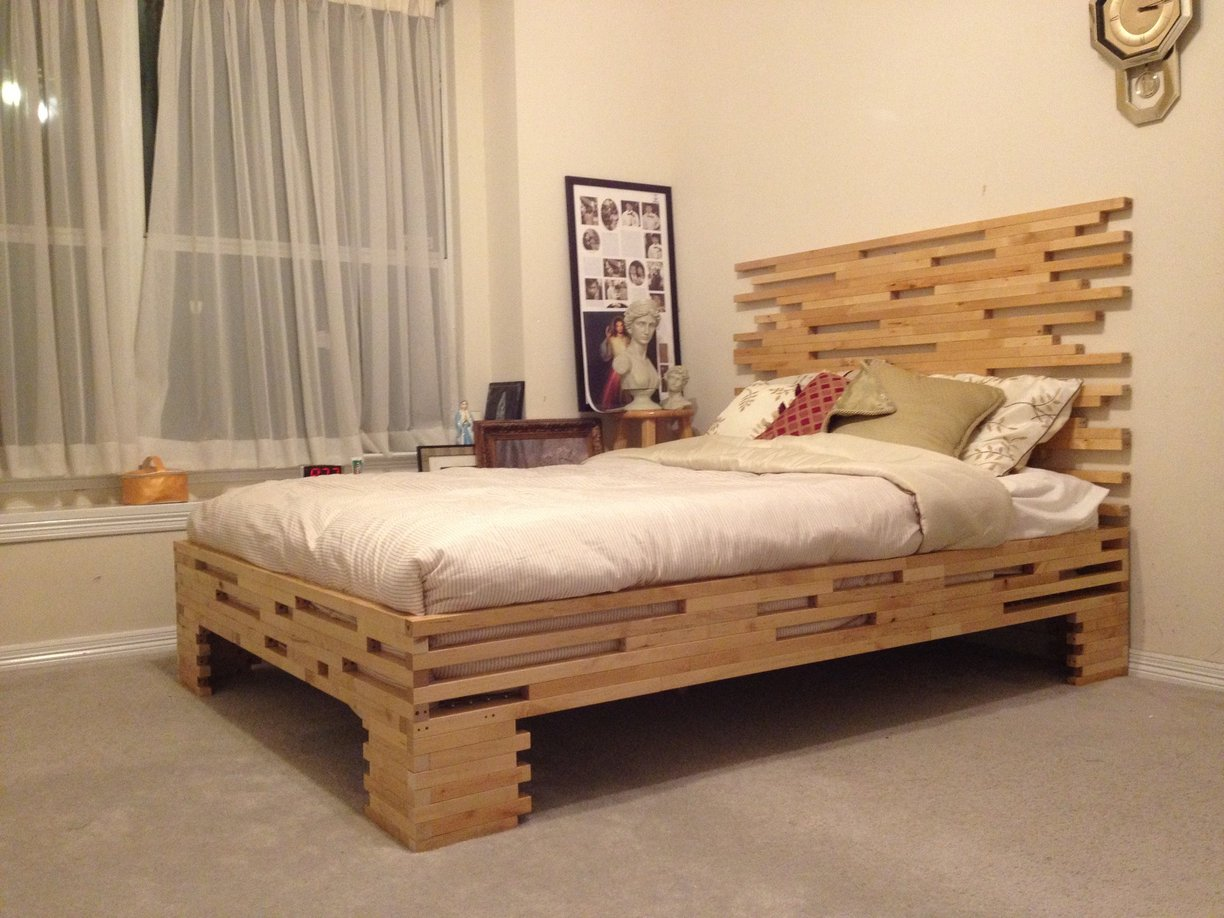 Molger Leg Frame to Bed Frame