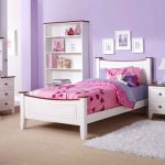 Purple kids bedroom furniture sets for girls