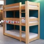 Quality triple bunk bed