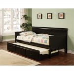 Sanibel Bunk Bed Trundle in Black or White