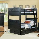 Sanibel Bunk Bed with Optional Trundle in Black or White