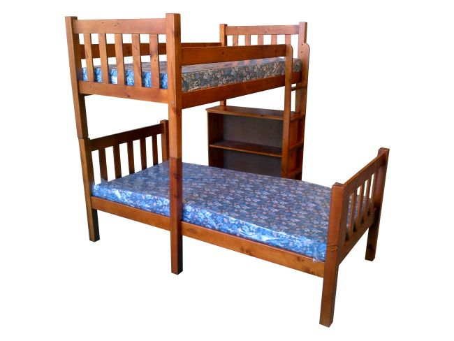 Image of: Simple Wood Bed Frames