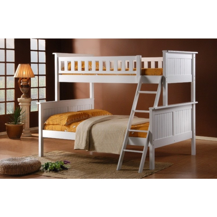 Image of: Single bunk bed plans