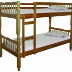 Single bunk bed size