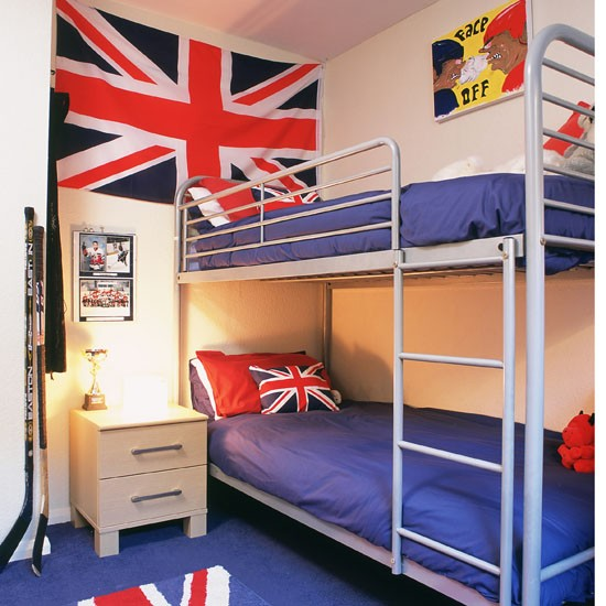 Image of: Sleek Bunk Beds for Boy