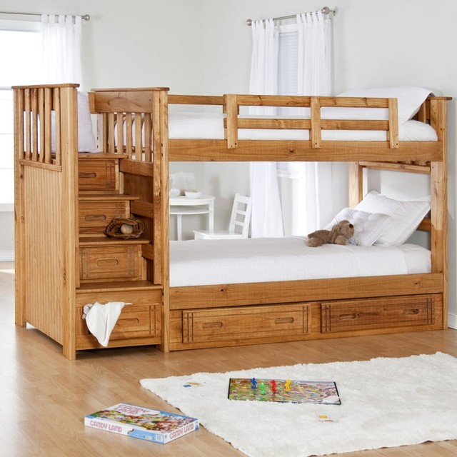 Image of: Small Adult Bunk Beds